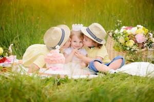 Geschwisterfotos Kindergeburtstag