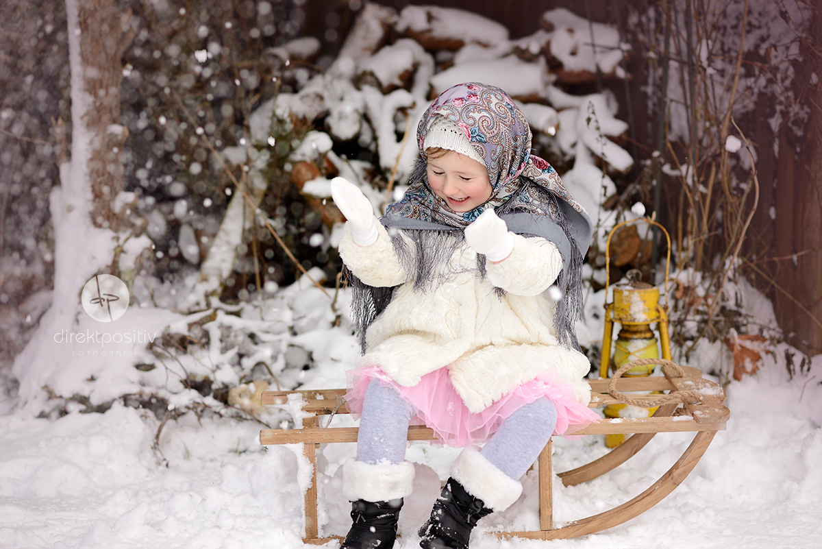 fotoshooting im schnee