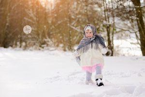 Fotoshooting im Winter