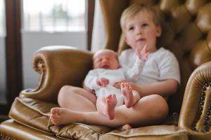 Neugeborenenfotoshooting zu Hause