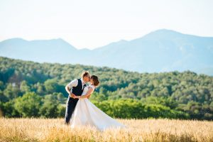 Brautpaar Berge