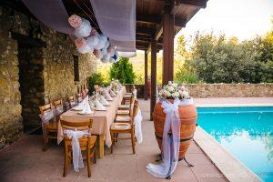 Tischdeco Hochzeit