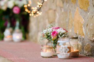 Blumendeco Hochzeit