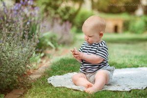Geburtagsfotoshooting im Park