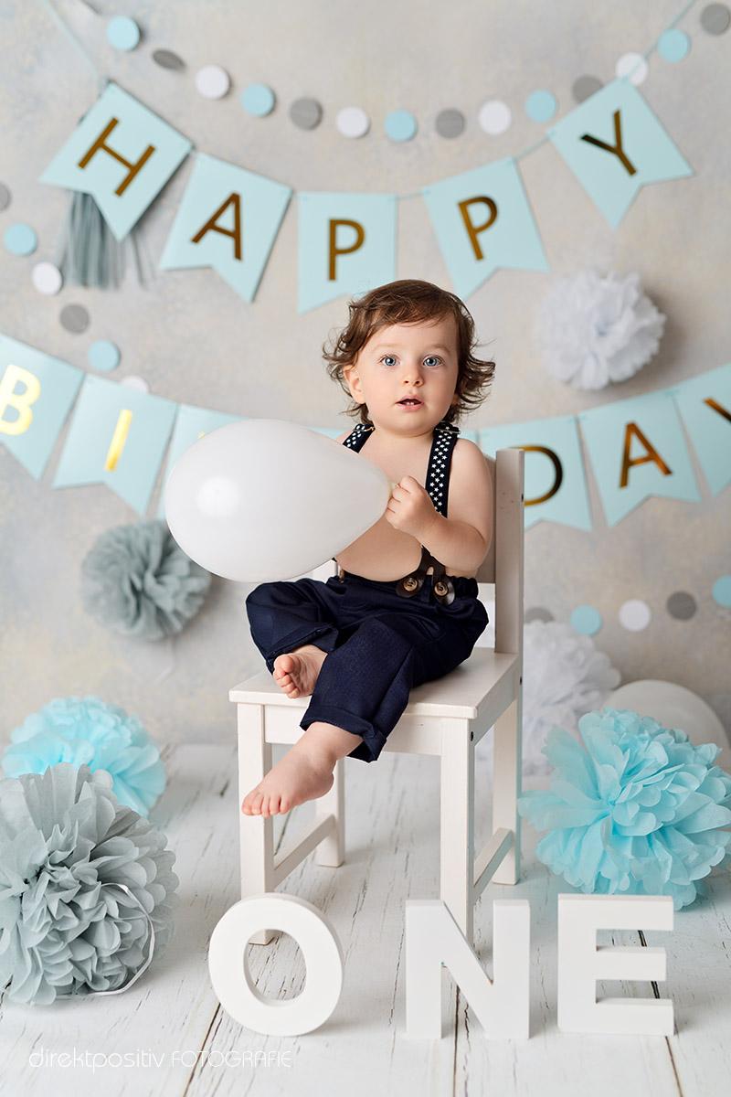 Fotos zum ersten Geburtstag