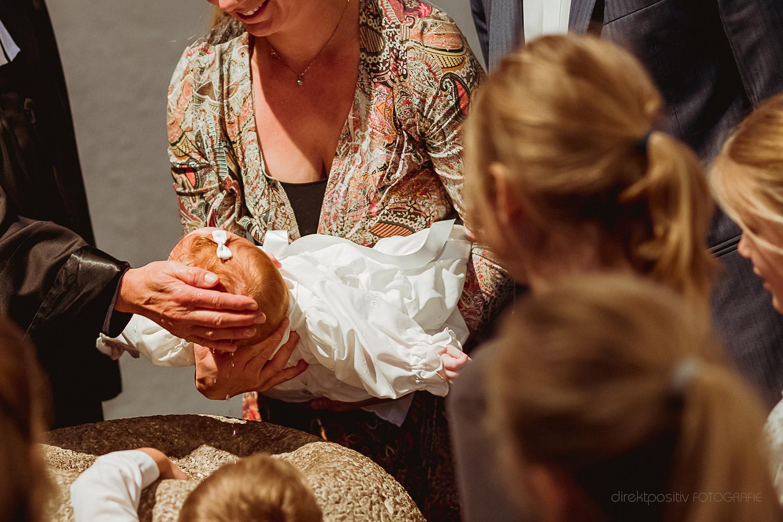 Fotografie der Taufe