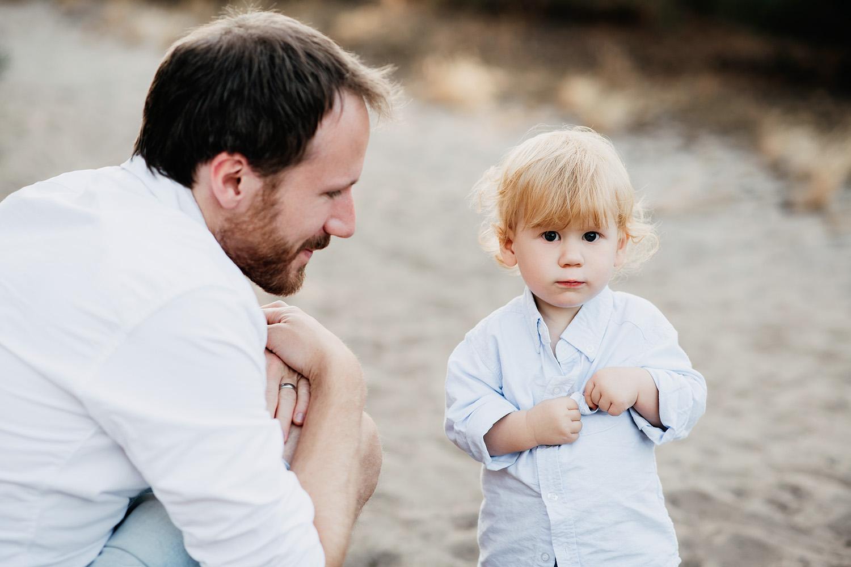 Familienfotoshooting in der Natur