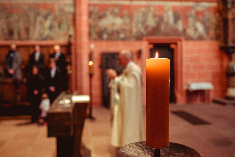 Taufe im Kaiserdom Frankfurt