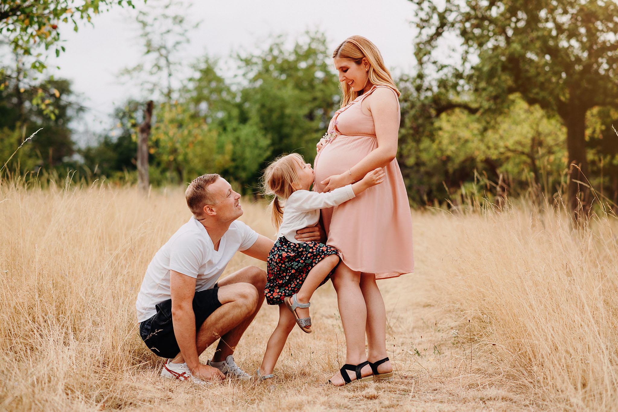 Schwangerschaft-Fotoshooting