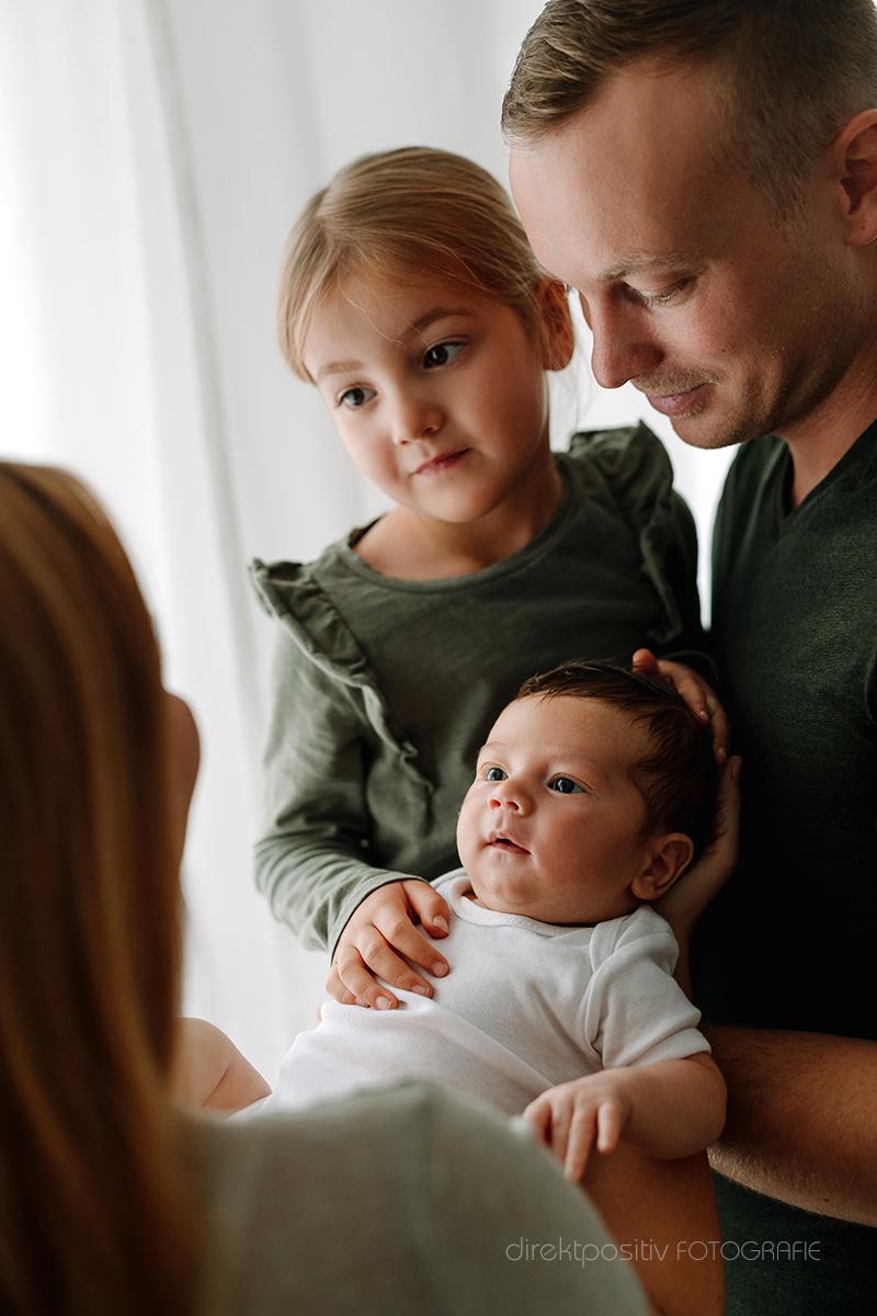 Fotoshooting für Neugeborene